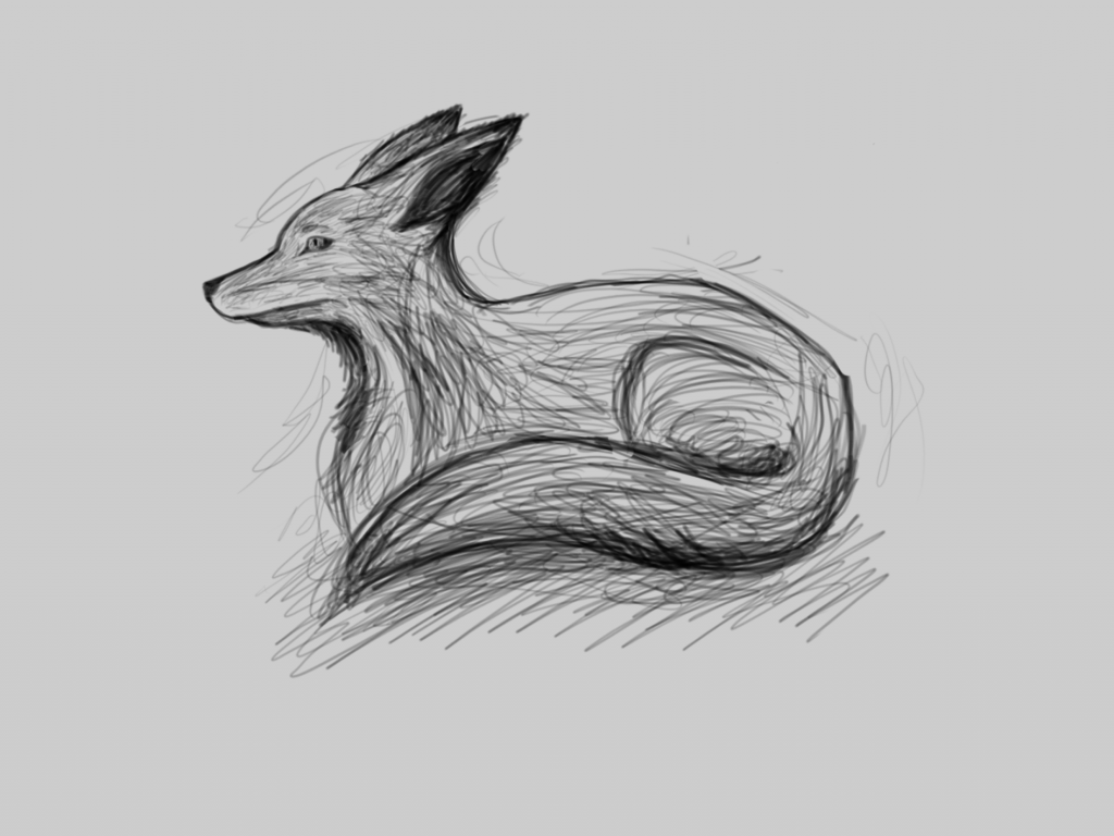 Fox sketch surface pro 3
